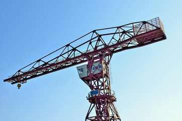 Old shipyard cranes, Tokyo