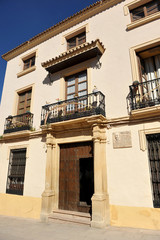 Casa señorial, Ronda, Málaga, España