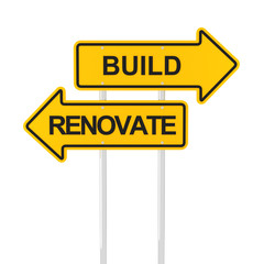 Build or renovate