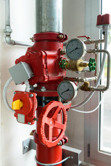 Erogazione acqua antincendio