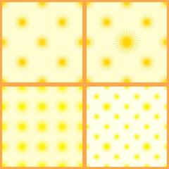 sun set seamless pattern