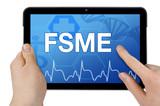 Tablet mit Interface und FSME