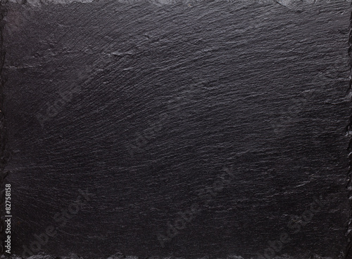 Staande foto Stenen Black stone texture