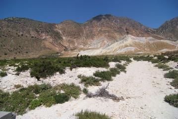 isola vulcanica di nissiros grecia