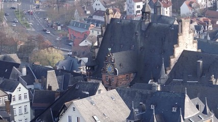 Deutsche Altstadt von oben