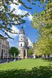 Thomaskirche im Frühling