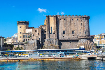 Castle  Maschio Angioino in Naples