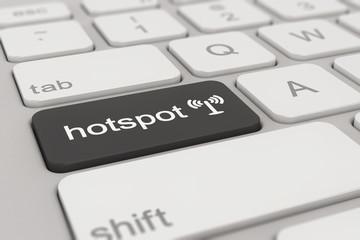 keyboard - hotspot - black