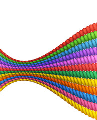 Different Colored Rope