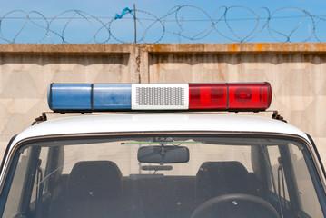 Специальные сигналы полицейского автомобиля