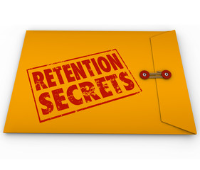 Retention Secrets Yellow Envelope Retain Employees Customers