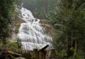 Bridal Veil Falls, British Columbia