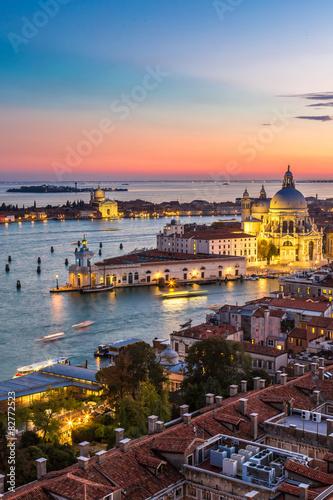 Staande foto Stockholm Aerial view of Venice