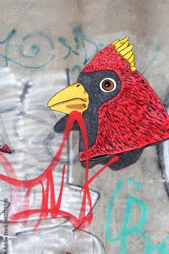 Street art - Bushwick / New York City © Brad Pict