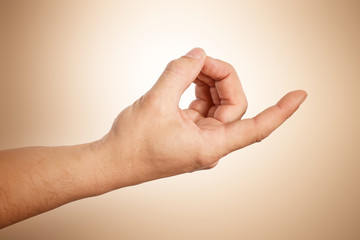 Meditation Handgeste