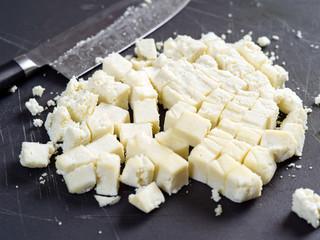Chunks of Paneer cheese
