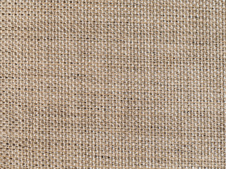 Closeup photo background texture of brown canvas