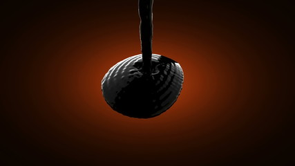 black oil. alpha matted