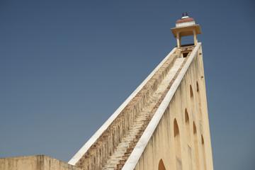 Sun-dial tower in Jaipur