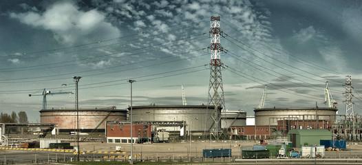 Paesaggio industriale nordeuropa