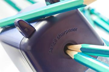Helix desktop pencil sharpener
