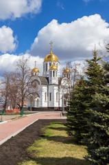 Church of St.George Victorious near the Volga river in Samara, R