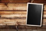 Fototapety vecchia fotografia su fondo legno