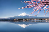 Fototapety Berg Fuji in Kawaguchiko Japan