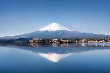 Berg Fuji in Kawaguchiko Japan