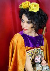 Donna Siciliana e Marionetta