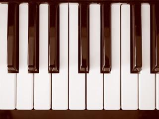 Retro look Music keyboard