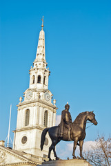 Iglesia de St Martin enTrafalgar Square,Londres