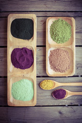 Healthy  dietary supplement powders (Superfood)