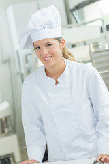 Young bakery apprentice