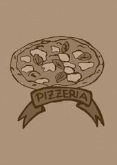 Pizzeria vintage