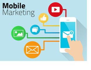 Mobile Marketing Design with Smart Phone
