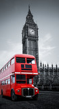 London bus und Big Ben