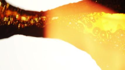 Film Scratch. 35mm film damage. 4K UHD video.