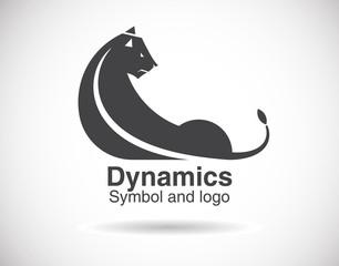 animal shape logo template.