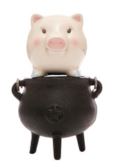 cooking the books piggy bank