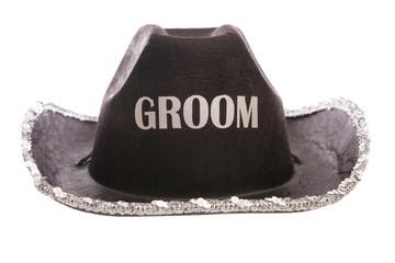 groom fancy dress cowboy hat