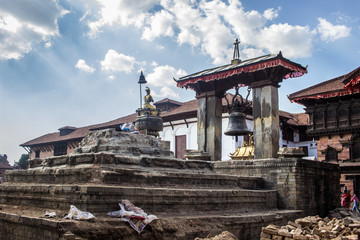 Bhaktapur Durbar Square Glocke 2