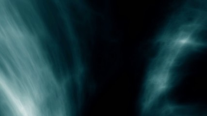 digital perfectly seamless loop of smoke slowly floating