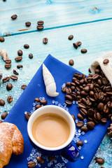 Summer coffee, texture
