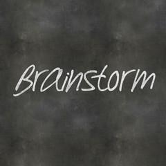 Blackboard Brainstorm