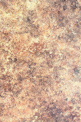 Abstract background of red granite. Vertical view