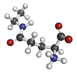 Theanine herbal molecule.