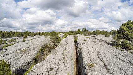 Enchanted City Solid Calcium Carbonate Rocks