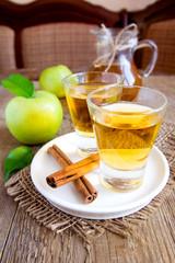 Apple tea (cider)