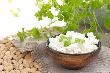 Fresh cottage cheese